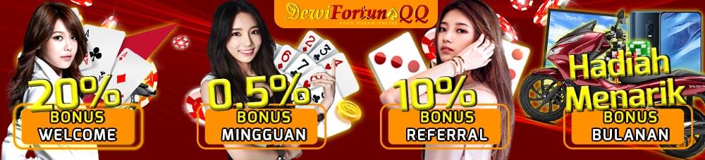 Promo Bonus Poker QQ Terpercaya